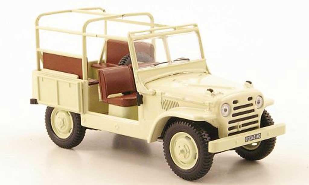Fiat Campagnola 1/43 Hachette beige 1952 miniature