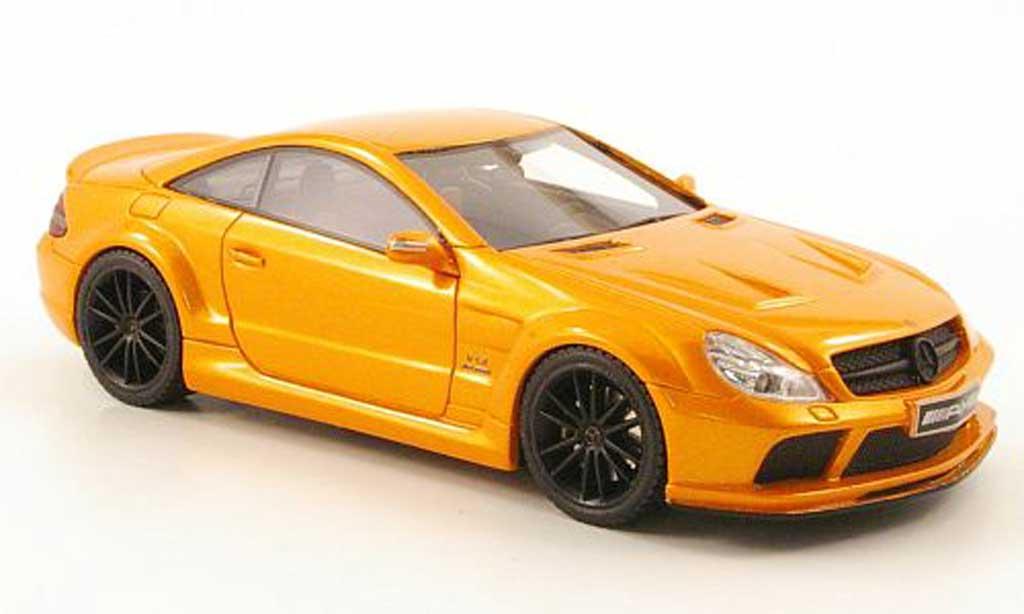 Mercedes Classe SL 65 1/43 Absolute Hot AMG Black Series orange miniature