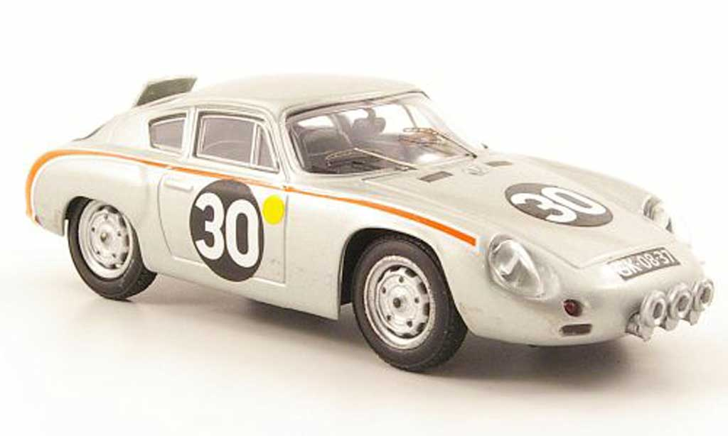 Porsche Abarth 1/43 Best No.30 24h Le Mans 1962 Pon / De Beauford miniature