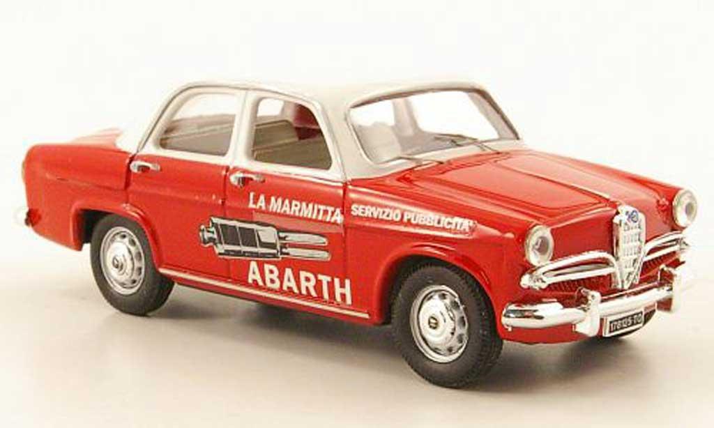 Alfa Romeo Giulietta 1/43 Rio Abarth Servizio Pubblicita 1957 miniature
