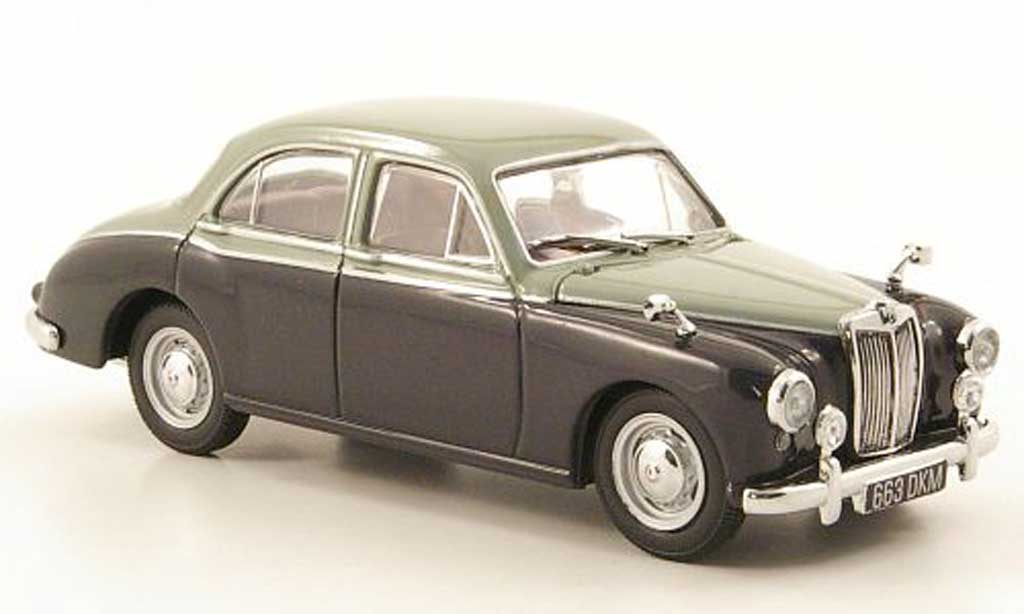 MG ZB 1/43 Oxford Variotone grise/grise