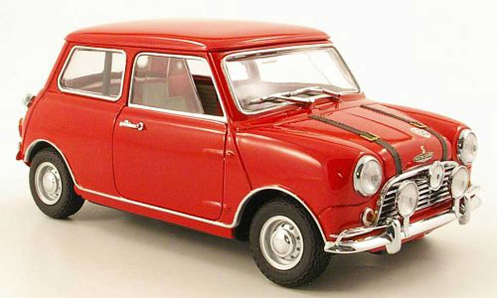 Austin Mini Cooper S 1/18 Kyosho mk1 rouge 1969 miniature