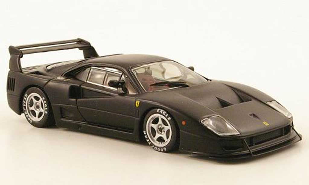 Ferrari F40 Competizione 1/43 IXO mattnoire 1990 miniature
