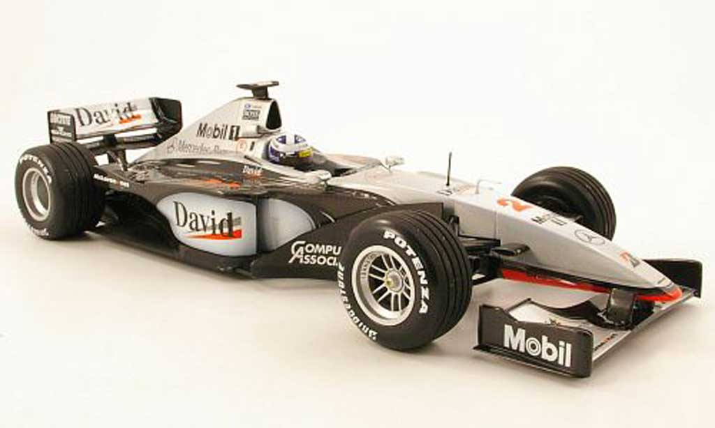 Mercedes F1 1/18 Minichamps mclaren mp414 no.2 f1 saison 1999 d.coulthard miniature