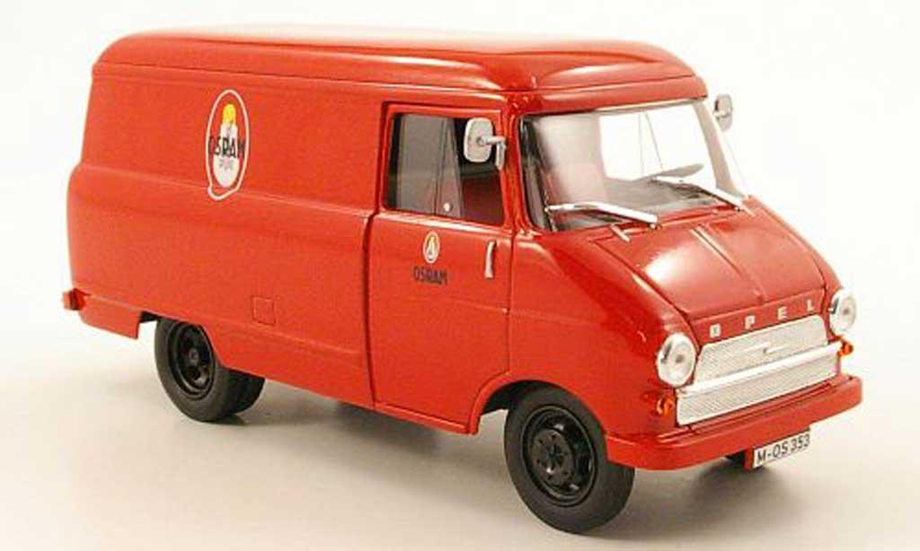 Opel Blitz 1/43 Starline Kastenwagen A Osram 1960 miniature