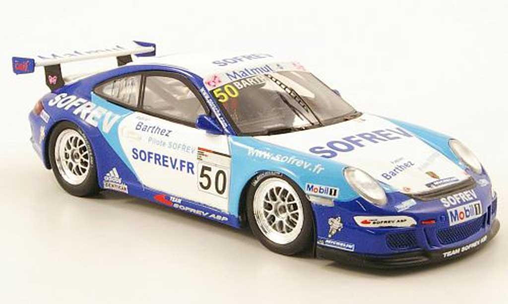 Porsche 997 GT3 CUP 1/43 Spark GT3 Cup 2008 No.50 Team Sofrev Carrera Cup VIP diecast model cars