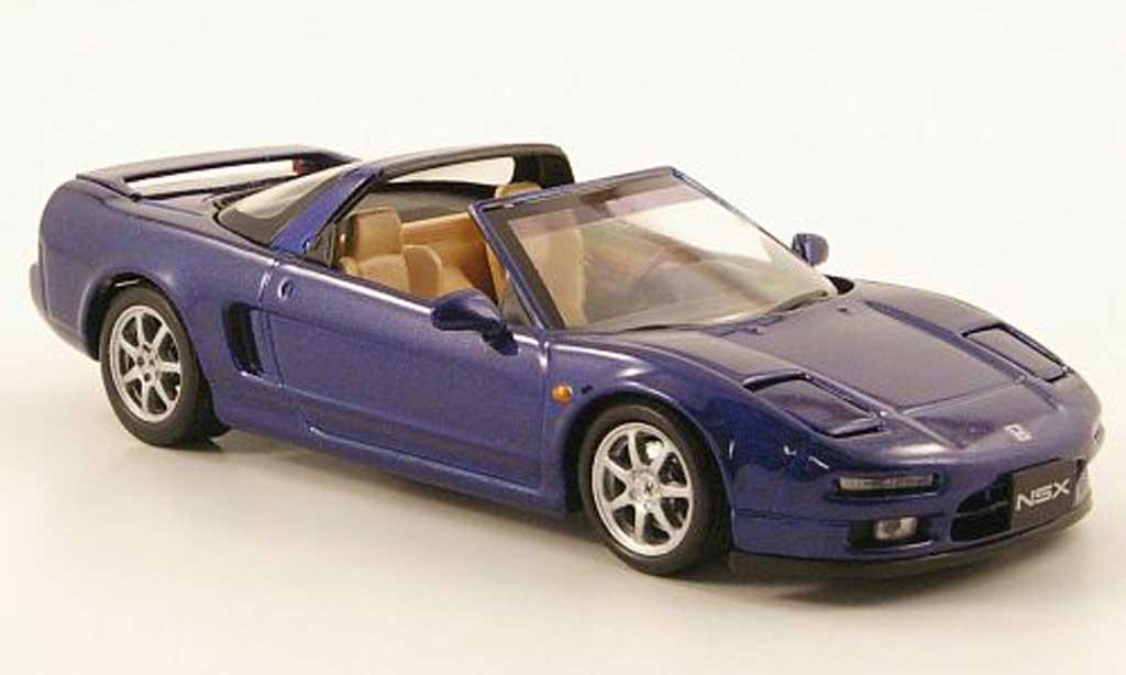 Honda NSX 1/43 Ebbro T bleue miniature