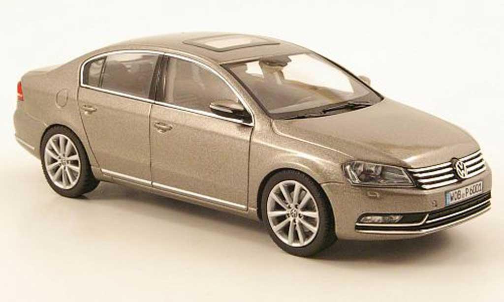 Volkswagen Passat 1/43 Schuco (B7) gray 2010 diecast