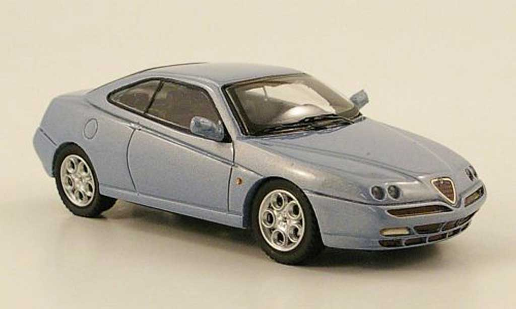 Alfa Romeo GTV 2.0 1/43 Top Model grise bleu 2000 miniature
