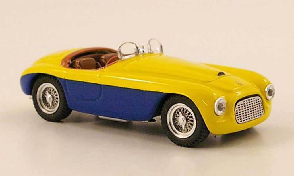 Ferrari 166 1949 1/43 Art Model Spider yellow/bleu Paris diecast model cars