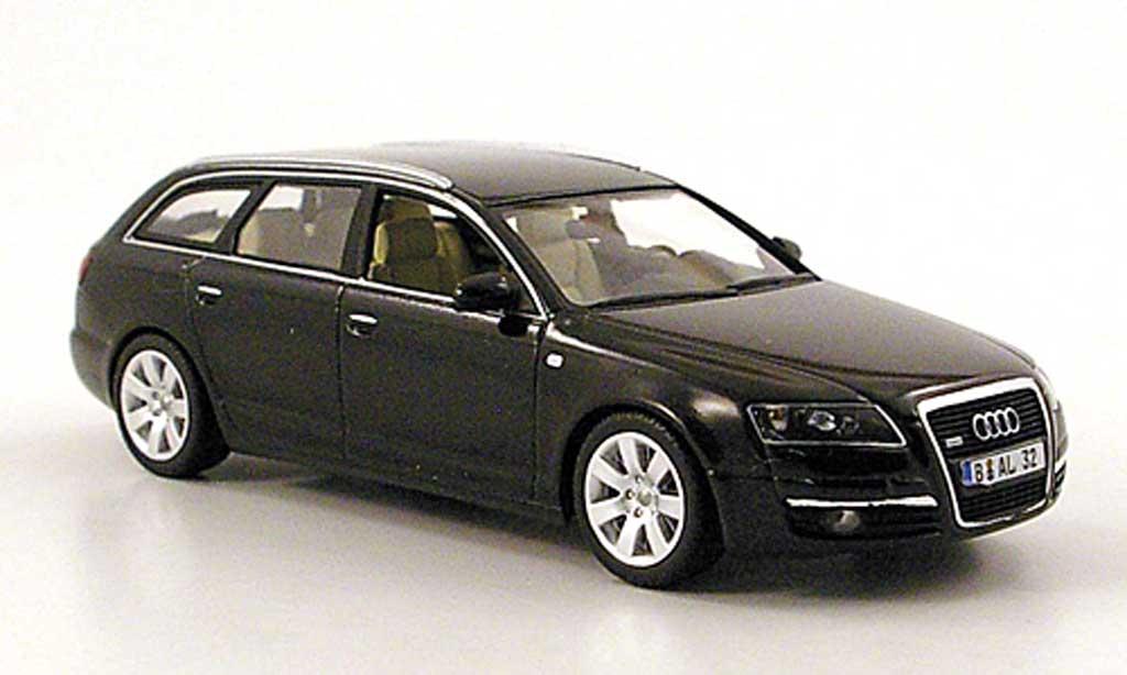 audi a6 avant c6 schwarz 2004 minichamps modellauto 1 43. Black Bedroom Furniture Sets. Home Design Ideas