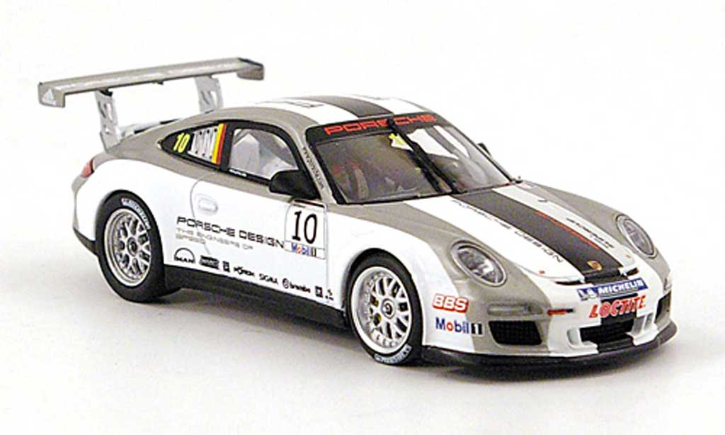 Porsche 997 GT3 CUP 1/43 Minichamps GT3 Cup 2010 No.10 Design diecast model cars