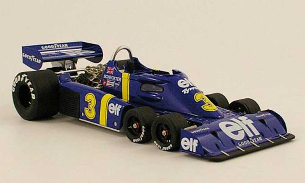 Tyrrell P34 1/18 TrueScale Miniatures no.3. elf sieger gp schweden 1976 j.scheckter miniature