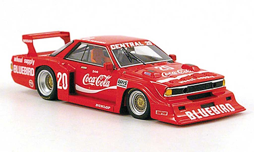 Nissan Bluebird 1/43 TrueScale Miniatures Gr.5 No.20 Coca-Cola WEC Japan 1982 miniature