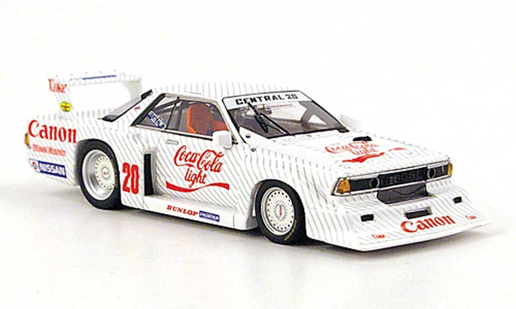 Nissan Bluebird 1/43 TrueScale Miniatures Gr.5 No.20 Coca-Cola Light 1984 diecast model cars