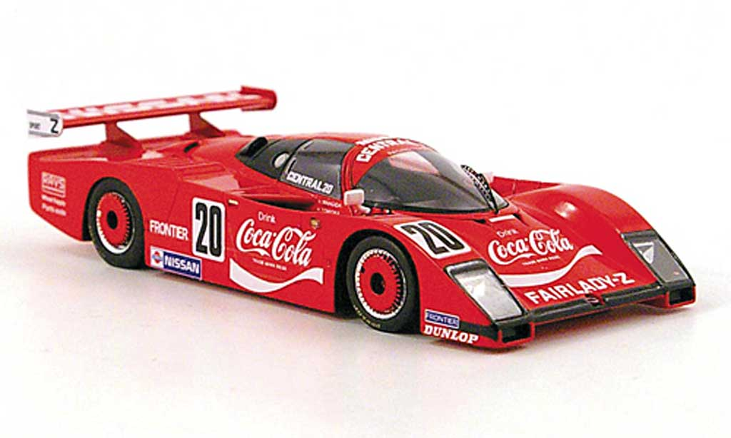 Nissan LM03C 1/43 TrueScale Miniatures Fairlady Gr.C No.20 Coca-Cola WEC Japan 1983 diecast model cars