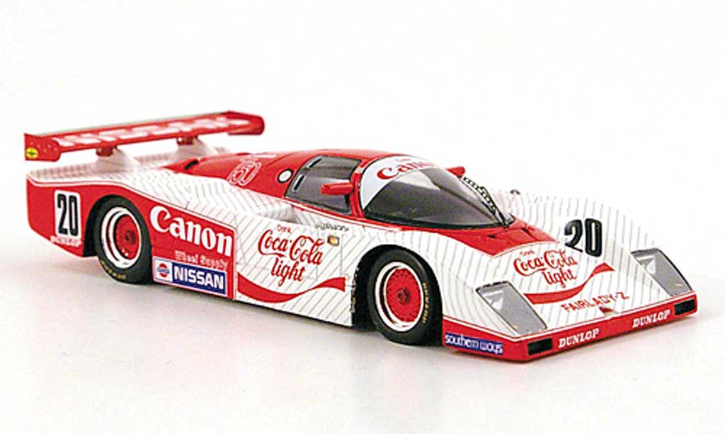 Nissan LM03C 1/43 TrueScale Miniatures Fairlady Gr.C No.20 Coca-Cola Light JSPC 1984 miniature