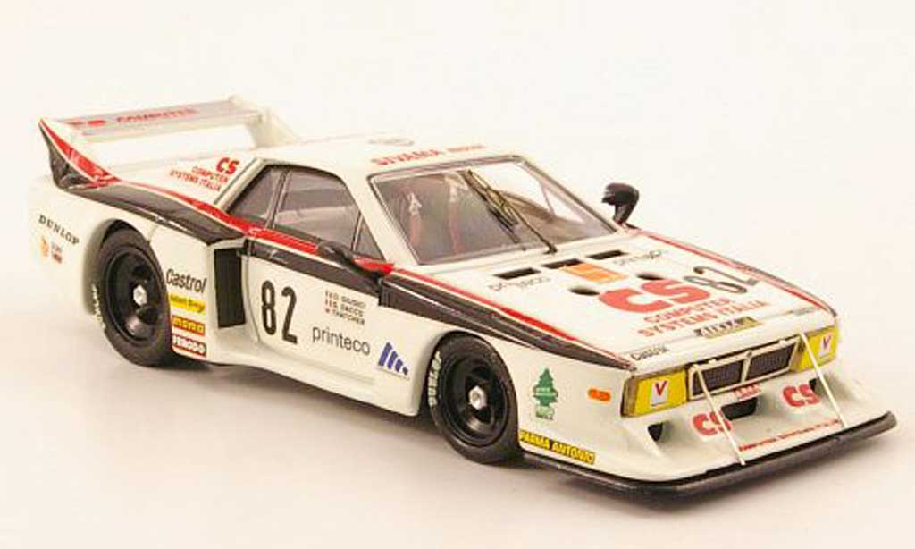 Lancia Beta Monte Carlo 1/43 Best No.82 CSI Monza 1982 miniature