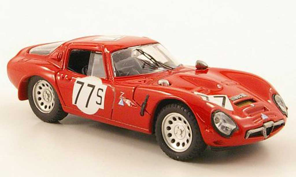 Alfa Romeo TZ2 1/43 Best No.77 Nurburgring 1966 miniature