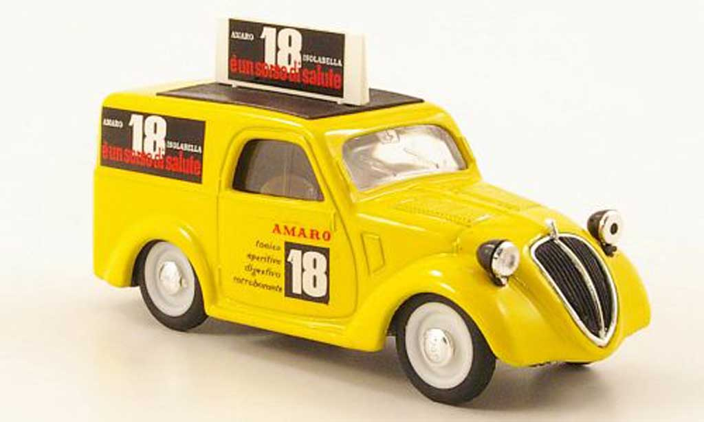 Fiat 500 1/43 Brumm B Furgoncino Amaro 18 Isolabella 1946 diecast model cars