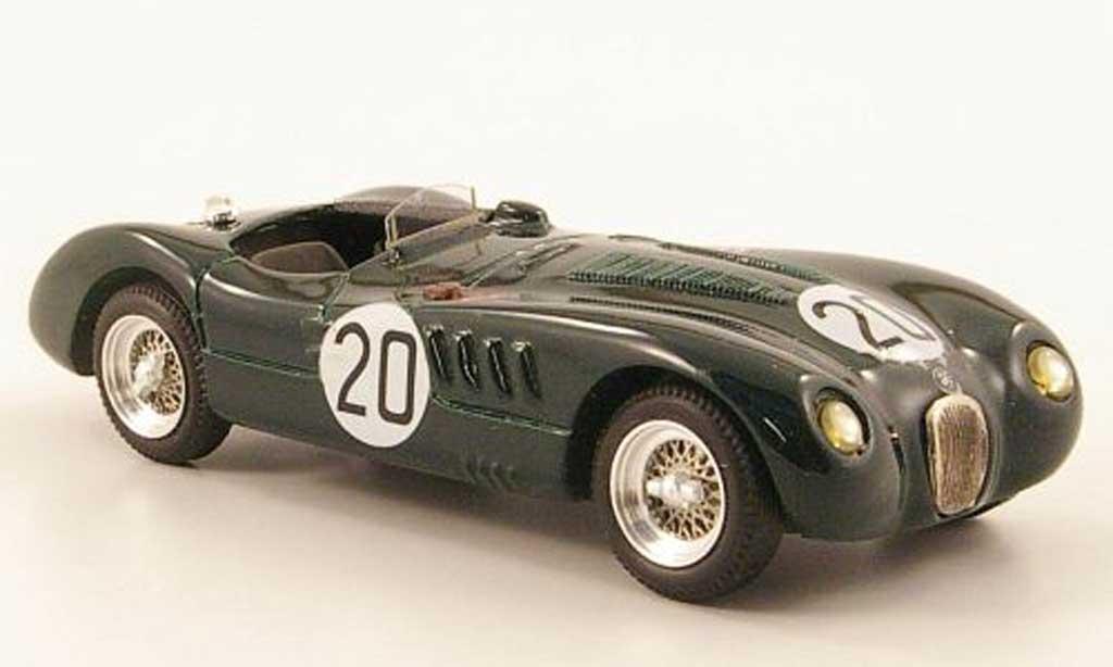 Jaguar C-Type 1951 1/43 Top Model 1951 No.20 Sieger 24h Le Mans miniature
