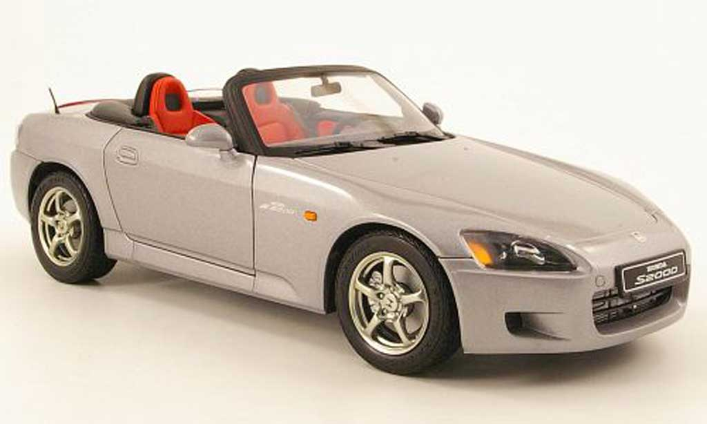 Honda S2000 1/18 Autoart grey lhd diecast model cars