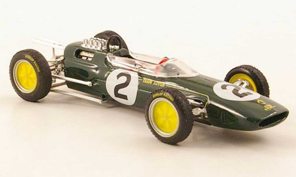 Lotus 25 1/43 Brumm No.2 Team T.Taylor GP Belgien 1963 miniature
