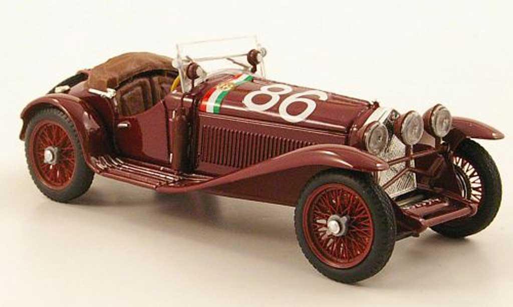Alfa Romeo 1750 1/43 Brumm No.86 Campari / Marinoni Mille Miglia 1931 miniature