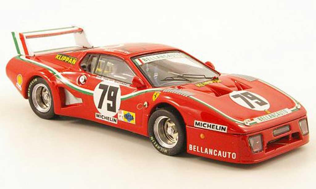 Ferrari 512 BB LM 1/43 Best No.79 Bellancauto 24h Le Mans 1980 Dini / Violati / Micangeli miniature