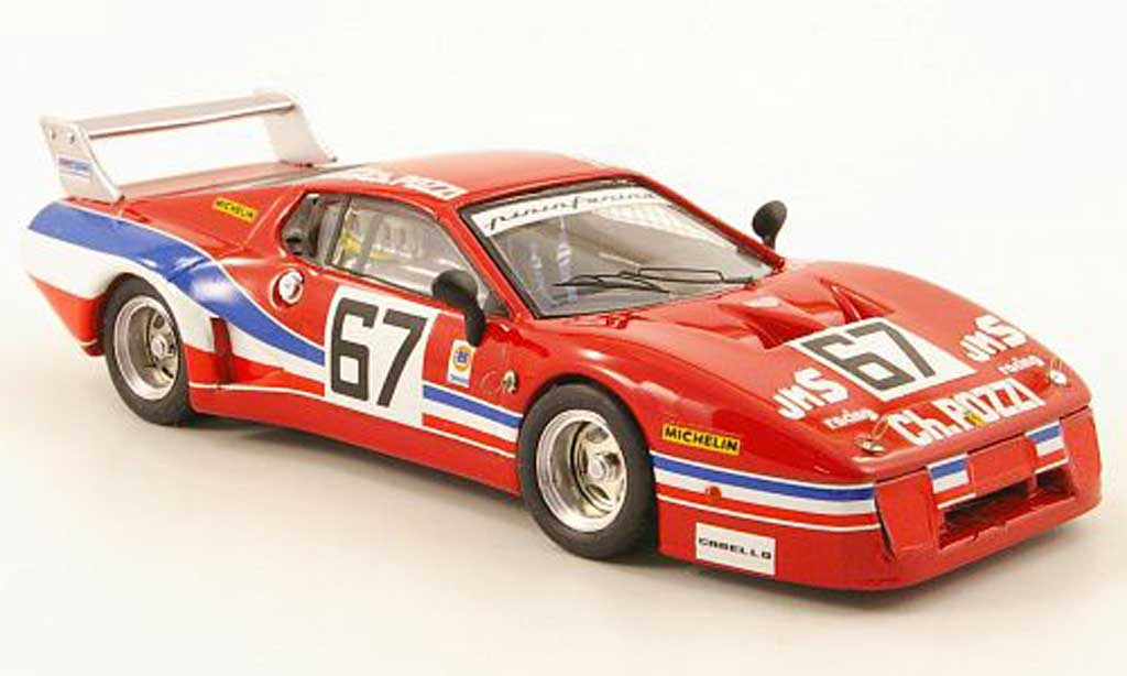 Ferrari 512 BB LM 1/43 Best No.67 JMS Racing 24h Daytona 1979 miniatura