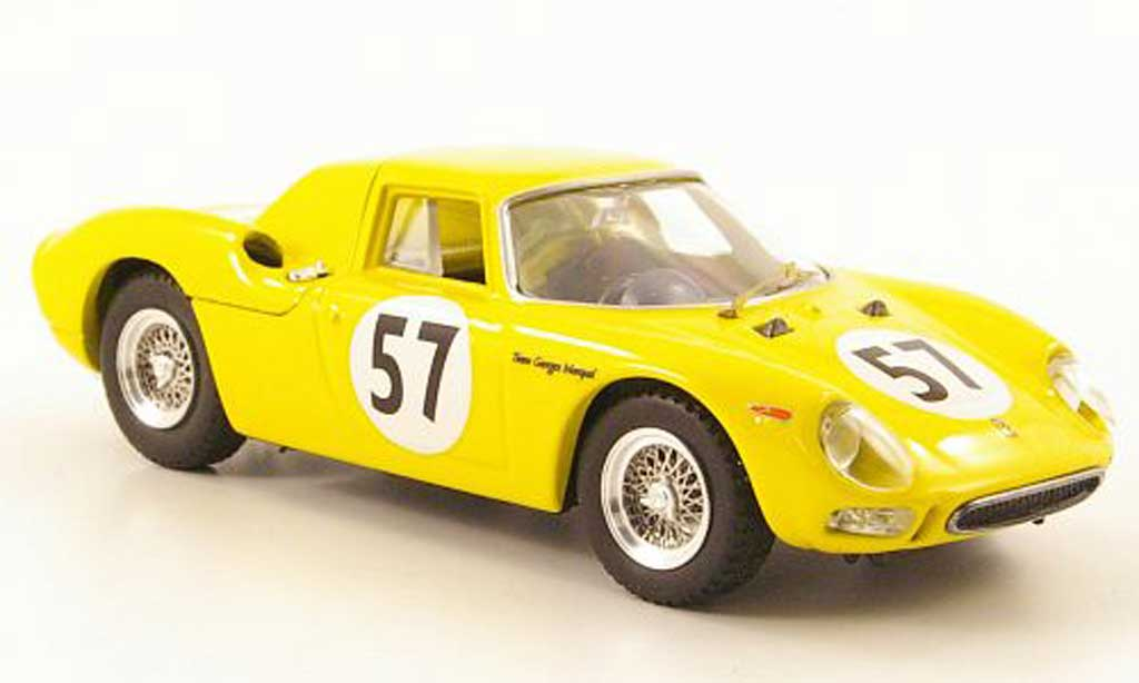 Ferrari 250 LM 1966 1/43 Best No.57 Team G.Marquel Francorchamps miniature