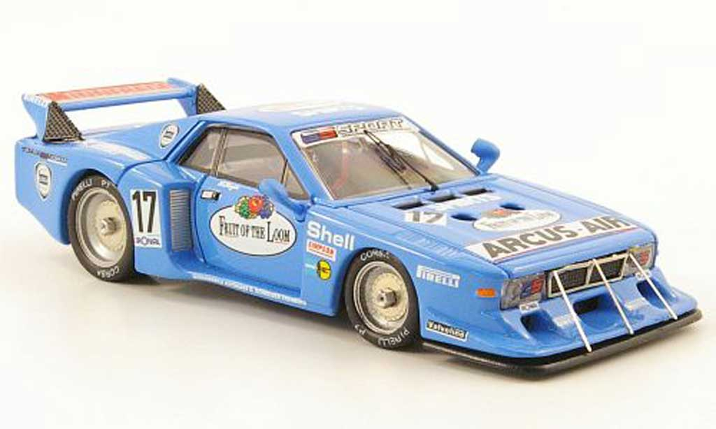 Lancia Beta Monte Carlo 1/43 Best No.17 GS Sport Nurburgring 1981 Heyer / Ghinzani miniature