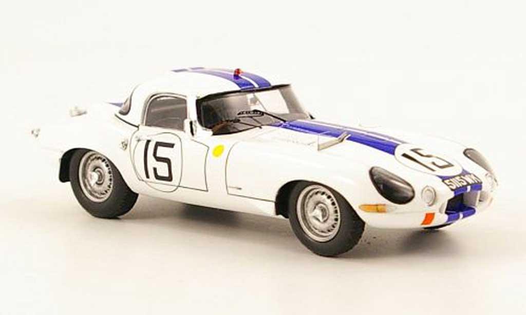 Jaguar E-Type 1963 1/43 Spark 1963 No.15 24h Le Mans B.Cunningham / B.Grossman miniature