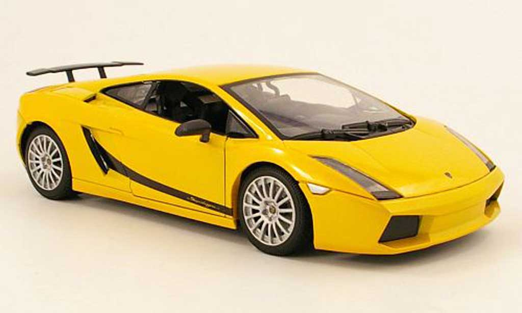 Lamborghini Gallardo Superleggera 1/18 Mondo Motors jaune miniature