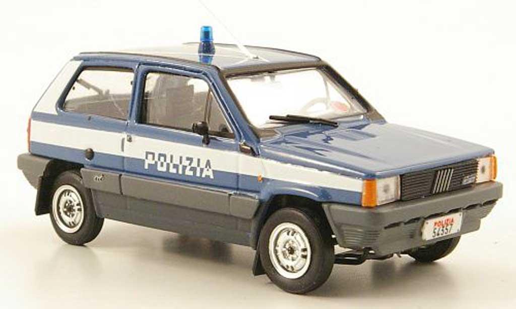 Fiat Panda 1/43 Brumm 4x4 Polizia Polizei Italien 1983 diecast model cars