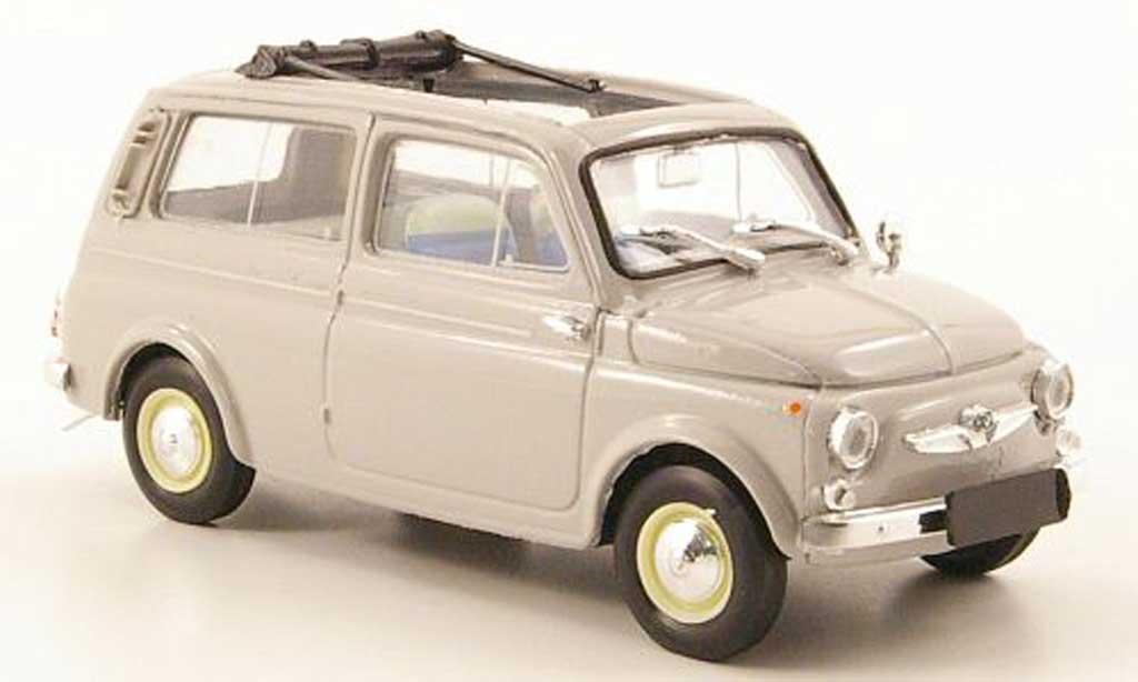 Steyr Puch 700 1/43 Brumm C grise geoffnet 1961 miniature