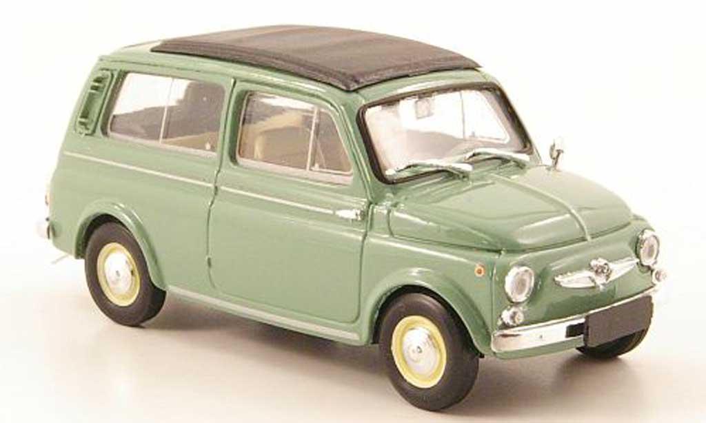Steyr Puch 700 1/43 Brumm C grun geschlossen 1961 miniature