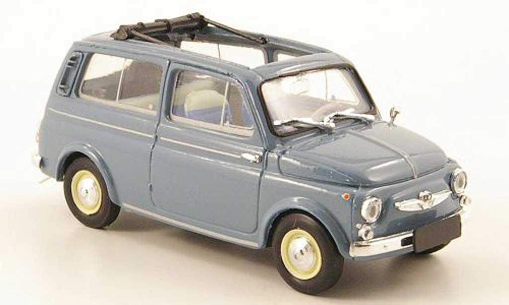 Steyr Puch 700 1/43 Brumm C bleu geoffnet 1961 miniature