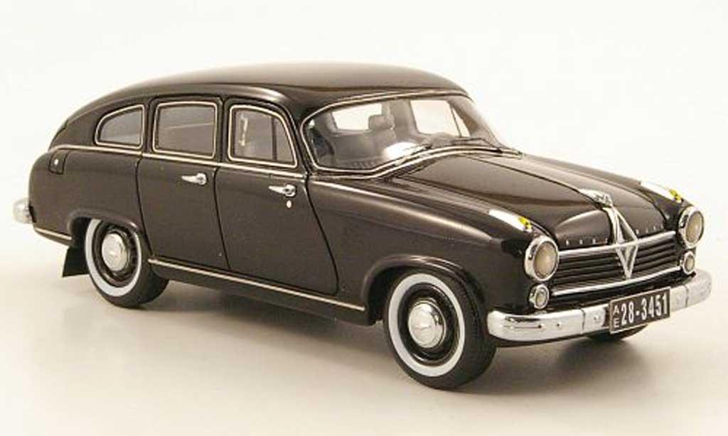 Borgward Hansa 2400 1/43 Neo noire 1955 miniature