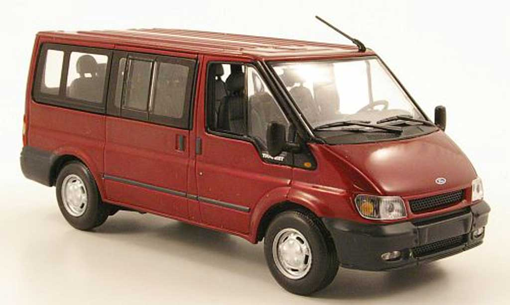 Ford Transit 1/43 Minichamps Bus Tourneo red 2000 diecast model cars