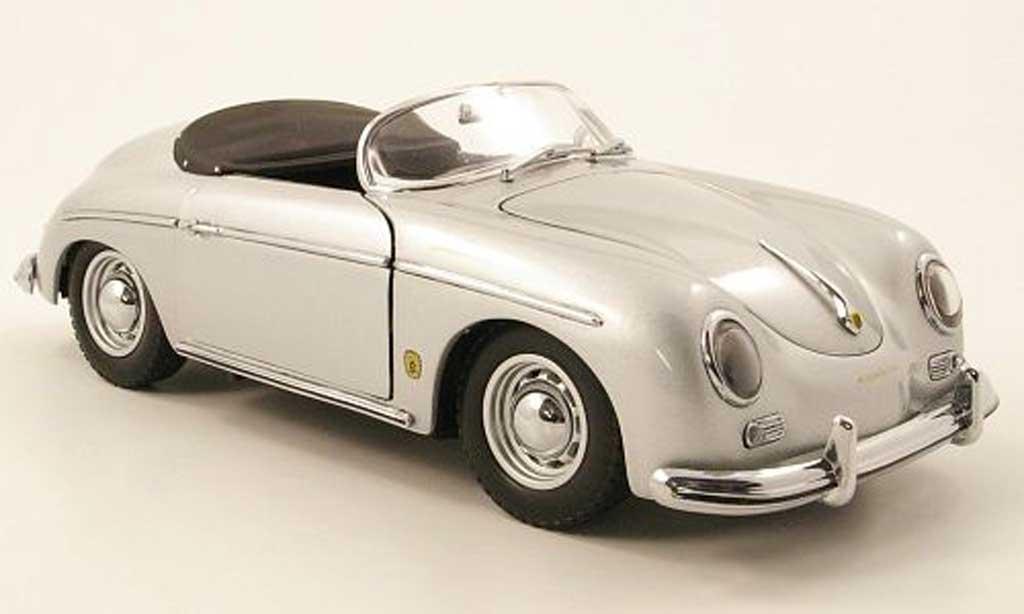 Porsche 356 1/18 Kyosho A speedster grise miniature