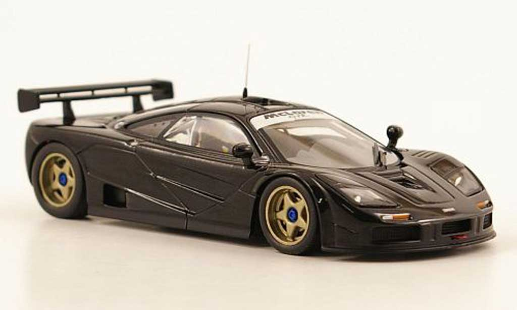 McLaren F1 1/43 IXO GTR noire Race Version miniature