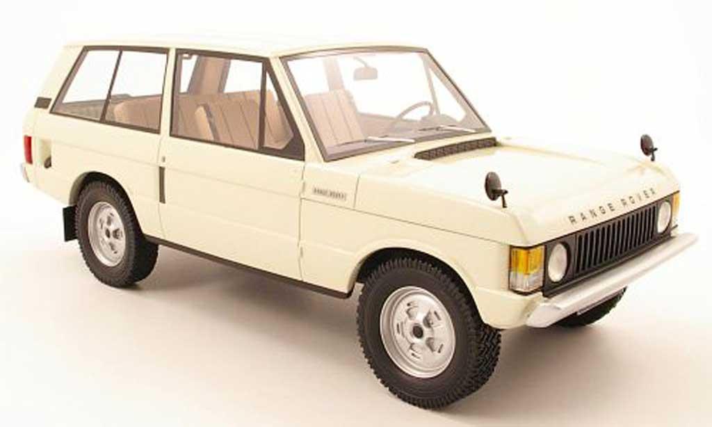 Range Rover Suffix A 1/18 Neo A creme blanche 1970 miniature