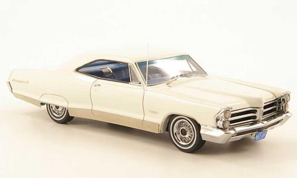 Pontiac Bonneville 1/43 Neo Hardtop Coupe blanche 1965 miniature