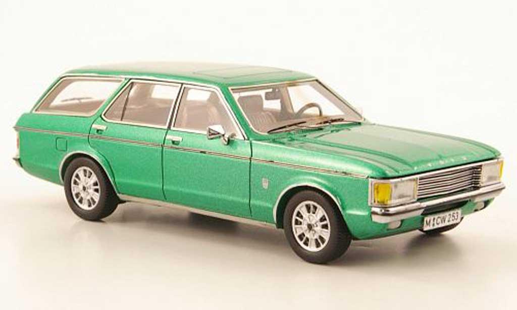 Ford Granada 1/43 Neo MK I Turnier grun lim. Aufl. 300 1972 miniature