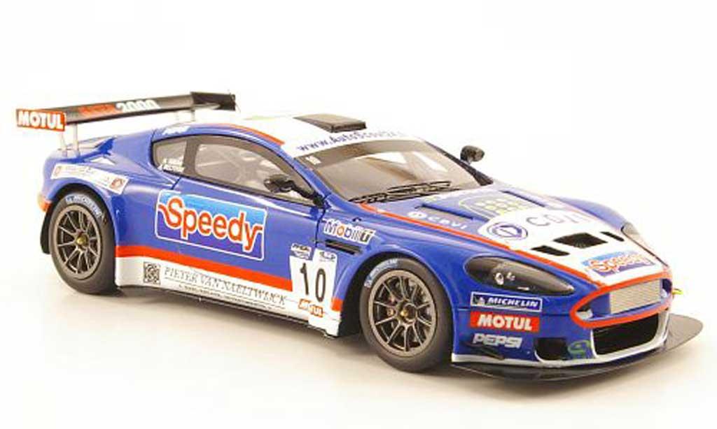Aston Martin DBRS9 1/43 Spark GT3 No.10 Team LMP Motorsport FFSA 2010 miniature
