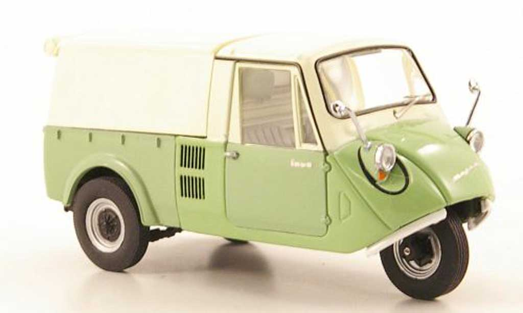Mazda K360 1/43 Ebbro grun/beige Dreirad-Pritsche/Plane 1962 miniature