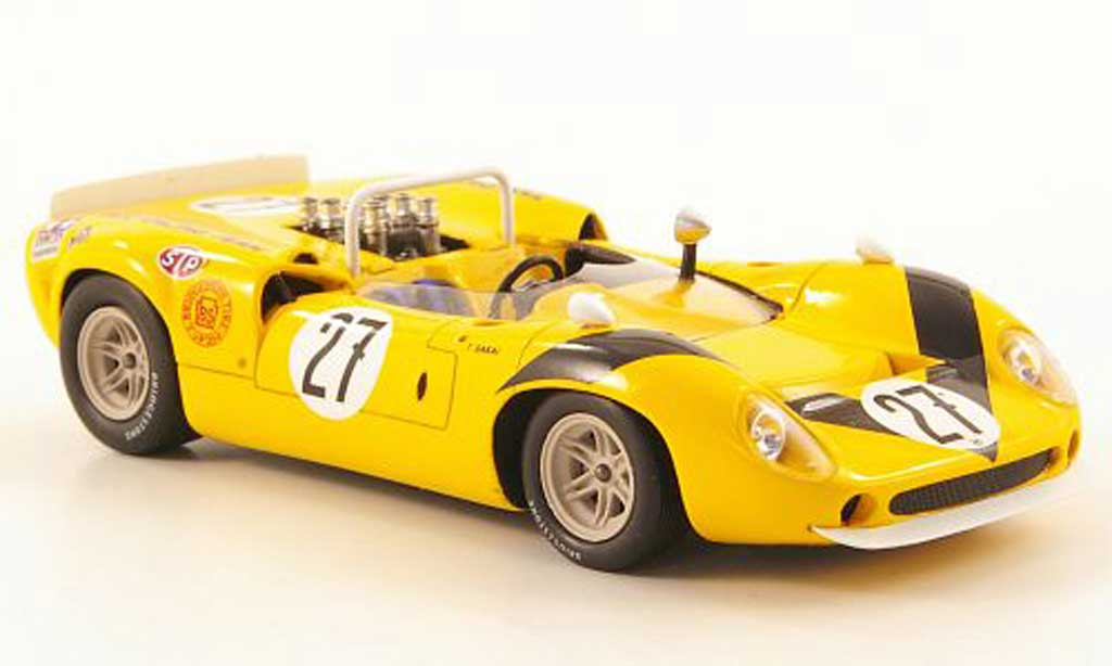 Lola T70 1968 1/43 Ebbro Mk.2 No.27 GP Japan miniature