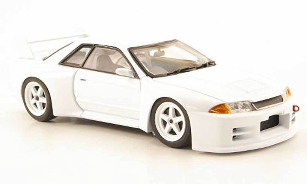 nissan skyline r32 miniature gt r blanche test car jgtc. Black Bedroom Furniture Sets. Home Design Ideas