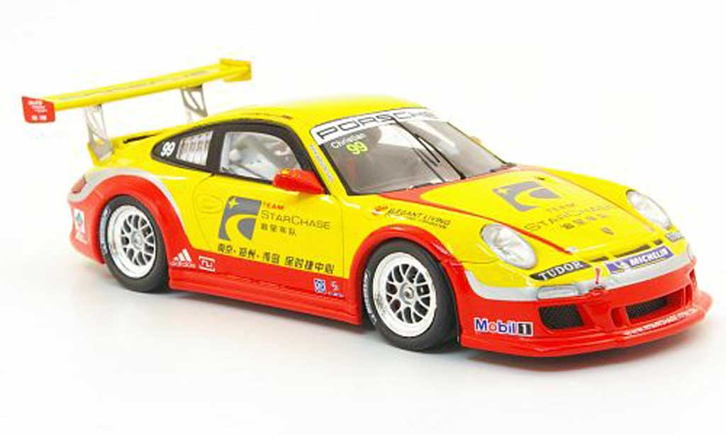Porsche 997 GT3 CUP 1/43 Spark GT3 Cup 2010 No.99 Team Starchase Carrera Cup Asia diecast model cars